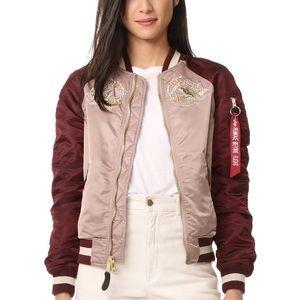 Alpha Industries MA-1 Japan Souvenir Jacket Women